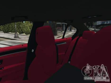 BMW M5 F10 2012 Aige-edit para GTA 4 vista de volta