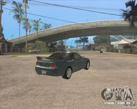 Nissan Skyline GT-R BNR33 para GTA San Andreas vista direita