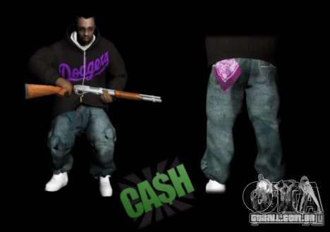 Pack Ballas Soldiaz Families V.2 para GTA San Andreas terceira tela