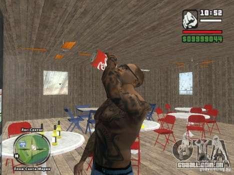 Nova Verona de bar de praia para GTA San Andreas sexta tela