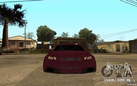Audi A3 Tuned para GTA San Andreas vista direita