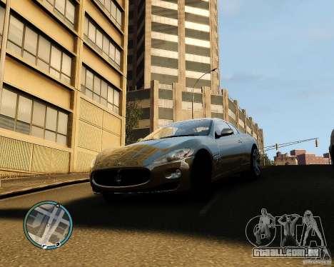 Maserati Grandturismo para GTA 4 esquerda vista
