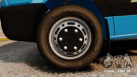 Mercedes-Benz Sprinter 3500 Car Transporter para GTA 4 vista lateral