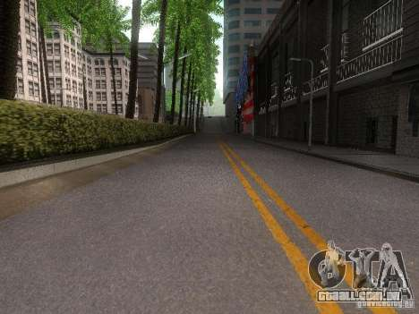 Modification Of The Road para GTA San Andreas por diante tela