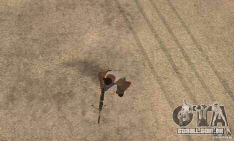 Intervenšn de Call Of Duty: Modern Warfare 2 para GTA San Andreas quinto tela