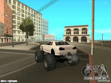 Elegy Monster para GTA San Andreas vista direita