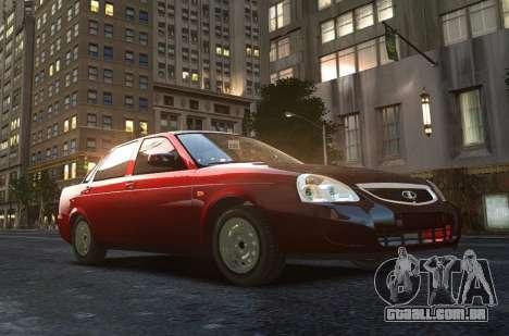 VAZ 2170 de Lada Priora para GTA 4 vista superior