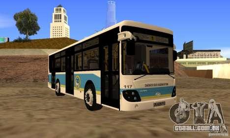 Daewoo Bus BC211MA Almaty para GTA San Andreas