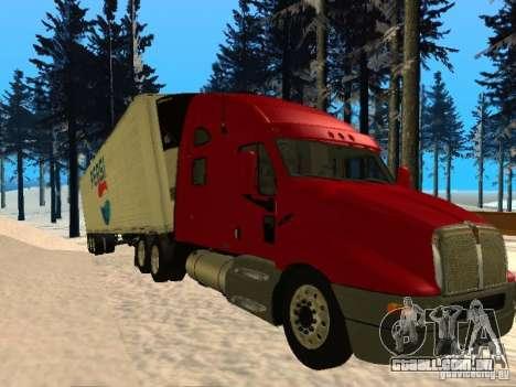 Trailer Artict3 para GTA San Andreas esquerda vista