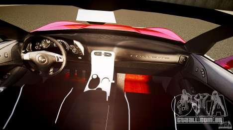 Chevrolet Corvette Z06 1.2 para GTA 4 vista inferior