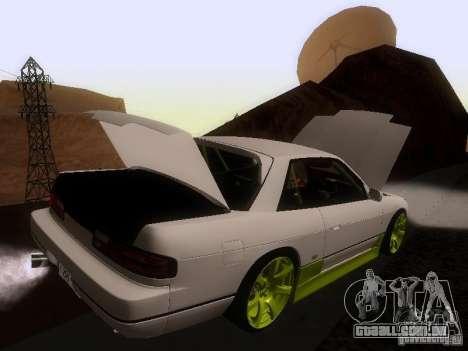 Nissan Silvia S13 Drift Style para as rodas de GTA San Andreas