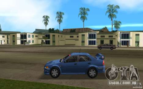 Mitsubishi Lancer Evo VI para GTA Vice City deixou vista