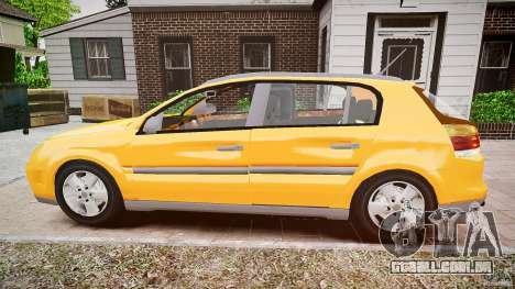Opel Signum 1.9 CDTi 2005 para GTA 4 esquerda vista