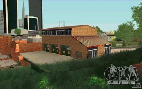 Corpo de bombeiros para GTA San Andreas segunda tela