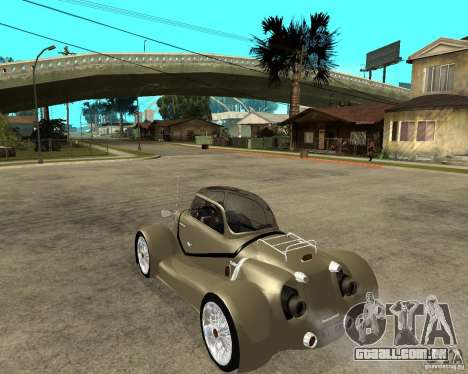 Messerschmitt GT500 Tiger Hard tuned para GTA San Andreas esquerda vista