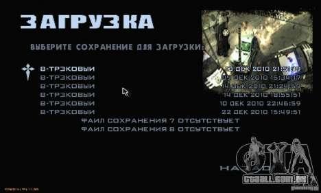 O Menu mais procurado para GTA San Andreas sétima tela