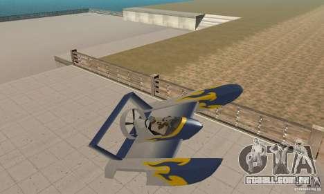 Hydrofoam para GTA San Andreas vista interior