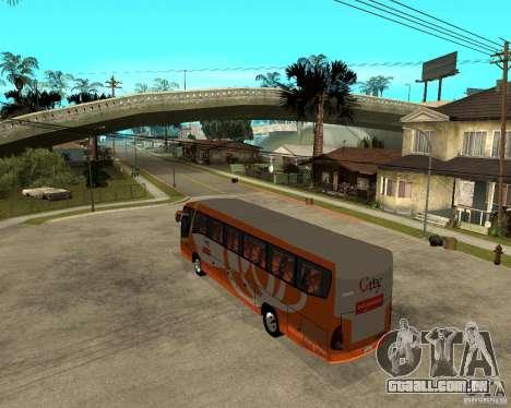 Cidade Express Bus da Malásia para GTA San Andreas esquerda vista