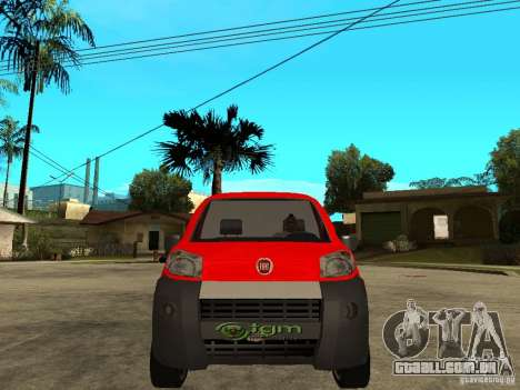 Fiat Fiorino Combi para GTA San Andreas vista direita