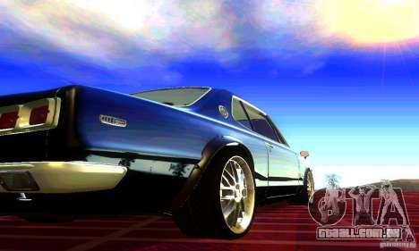 Nissan Skyline 2000-GTR para GTA San Andreas esquerda vista