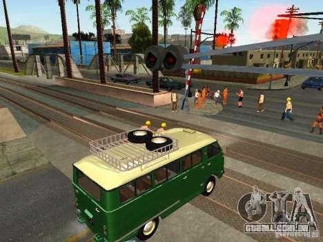 Novo sinal de trem para GTA San Andreas segunda tela