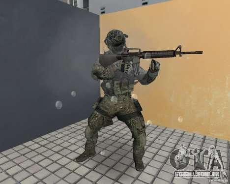 Frost do CoD MW3 para GTA Vice City quinto tela