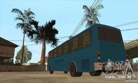 LAZ 52078 (forro-12) para GTA San Andreas traseira esquerda vista