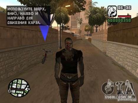 Zombe from Gothic para GTA San Andreas quinto tela