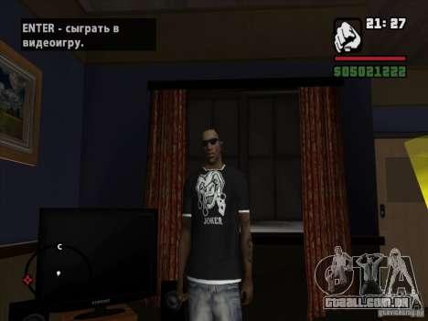 T-shirt do Coringa para GTA San Andreas