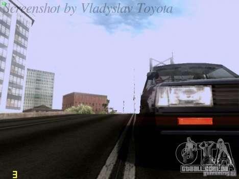 Toyota Corolla TE71 Coupe para vista lateral GTA San Andreas
