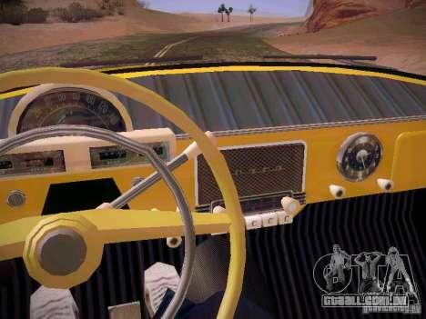Van de gás 22B para GTA San Andreas vista superior