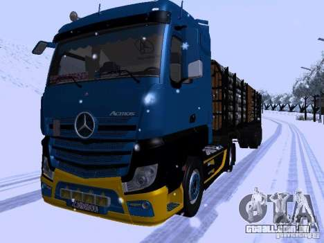 Mercedes Benz Actros MP4 para GTA San Andreas