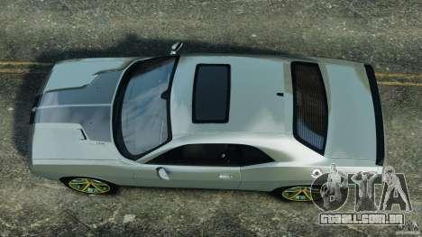 Dodge Challenger SRT8 2009 [EPM] para GTA 4 vista direita