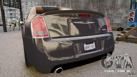 Chrysler 300 SRT8 2012 para GTA 4 vista direita