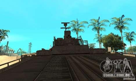 Barco para GTA San Andreas vista direita