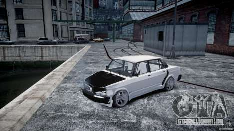 ВАЗ 2107 Drift para GTA 4 vista interior