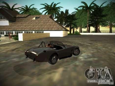 Shelby Cobra para GTA San Andreas vista direita