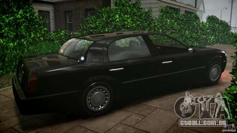 Washington FBI Car para GTA 4 esquerda vista