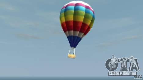 Balloon Tours option 7 para GTA 4 esquerda vista