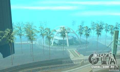 Drift City para GTA San Andreas por diante tela
