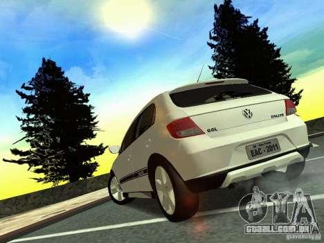 Volkswagen Gol Rallye 2012 para GTA San Andreas esquerda vista