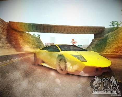 ENBSeries by ibilnaz v 2.0 para GTA San Andreas por diante tela