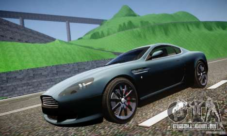 Aston Martin DB9 2005 V 1.5 para GTA 4 vista interior