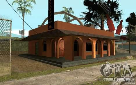 Um novo bar em Gantone v. 2 para GTA San Andreas