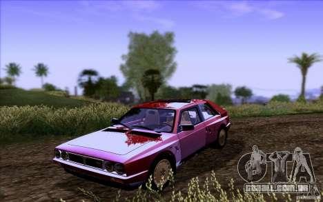 Lancia Delta S4 Stradale (SE038) para GTA San Andreas