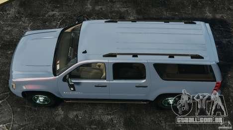 Chevrolet Suburban GMT900 2008 v1.0 para GTA 4 vista direita