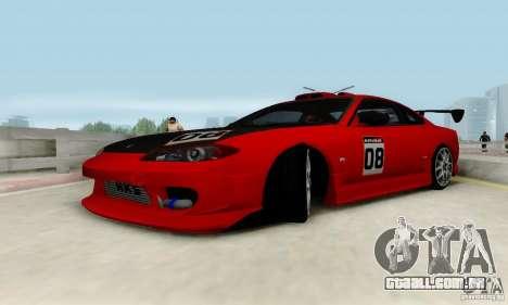 Nissan Silvia S15 Tunable para o motor de GTA San Andreas