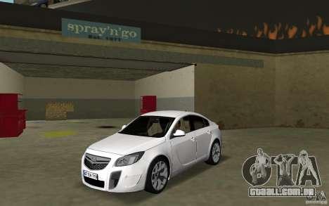 Opel Insignia para GTA Vice City