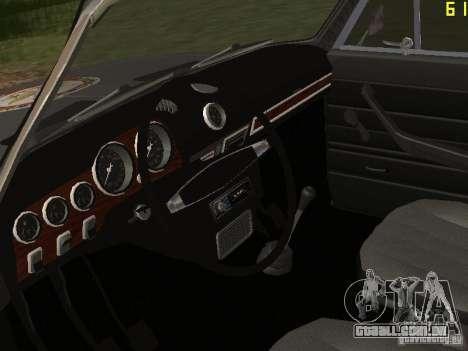 VAZ 21063 acadêmico para GTA San Andreas vista traseira