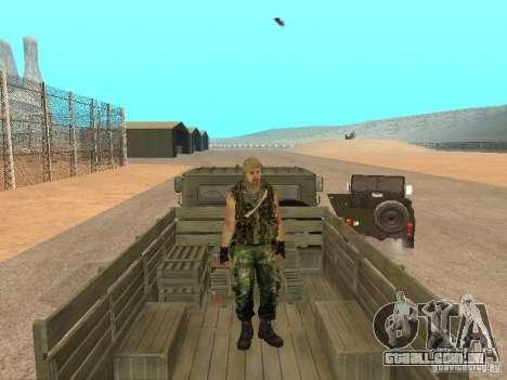 Comando russo para GTA San Andreas quinto tela